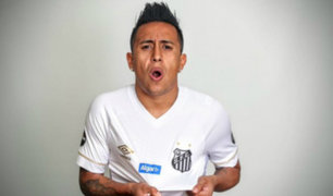 Christian Cueva fue anunciado oficialmente como refuerzo del Santos