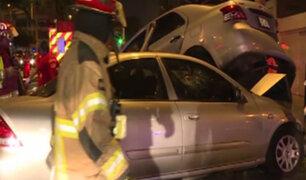 Miraflores: conductor que se habría quedado dormido ocasionó accidente en Av. Benavides