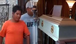 Iquitos: Lo detienen por asesinato cuando velaba restos de su pareja