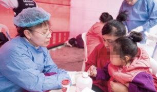 INEI: Anemia golpea al 43.5% de niños, de entre 0 y 3 años, en el 2018