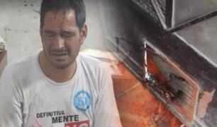 """Audios revelan amenazas del """"Loco Aldo"""" a su exesposa"""