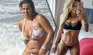 Reino Unido: mujer pierde 35 kilos en ocho meses y su marido la abandona por su nueva figura