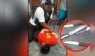 Menor de 17 años intentó asesinar a su madre por no darle dinero en Piura