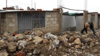 Declaran en emergencia zonas afectadas por huaicos en Tacna y Moquegua