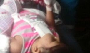 Niña se recupera tras brutal ataque de rottweiler