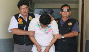 SJM: avezado ladrón llora tras ser capturado por la policía
