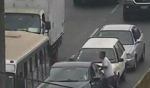 Capturan a delincuentes que asaltaban vehículos en Mirones Bajo