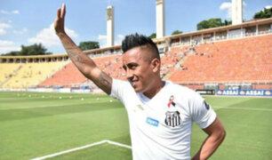 Christian Cueva fue presentado por Santos FC