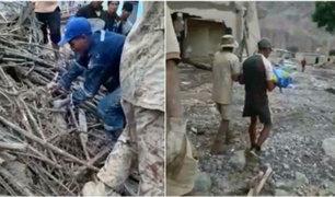 Tacna: menor de cuatro años es hallado sin vida luego de ser arrastrado por alud en Mirave