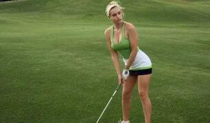 Conozca a Paige Spiranac, la golfista más sexy del mundo