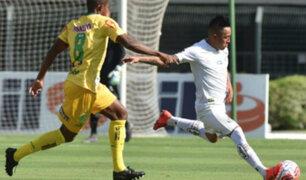 Peruanos en el extranjero: Christian Cueva casi anotó en su debut