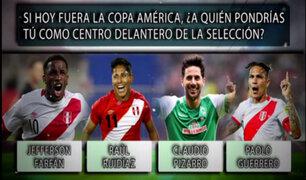Encuesta Teledeportes: ¿a quién pondría como 9 de la Selección Peruana?