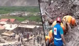 Arequipa: tres muertos y más de 200 familias damnificadas por caída de huaico en Aplao
