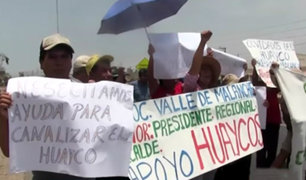 Huarochirí: piden que se declare estado de emergencia ante posibles huaicos