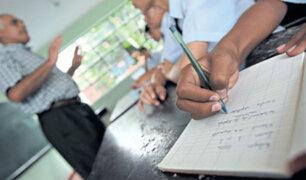 Minedu: sistema de calificación con letras no aplicará para todos los grados