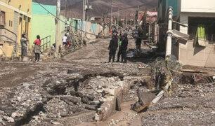 Tacna: al menos 430 familias quedaron damnificadas por huaico en Mirave