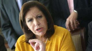 Reacciones tras presuntos aportes de Odebrecht a campañas de Lourdes Flores