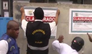 """San Martín de Porres: municipio clausura temporalmente terminal terrestre """"Marco Polo"""""""