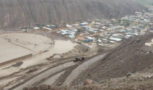 Tacna: gobernador regional pide reubicación de damnificados de Ilabaya