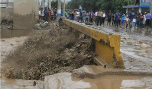 11 mil familias en riesgo ante eventual crecida de río Huaycoloro