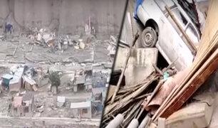 Tacna: Mirave quedó bajo el lodo por paso de huaico y deja 450 viviendas afectadas
