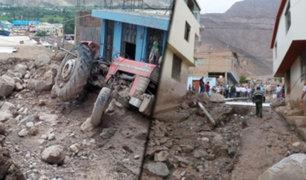 Arequipa: declaran en emergencia 40 distritos de la región por huaicos