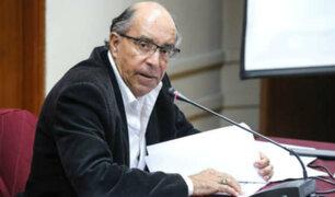 Edwin Donayre: Congreso oficializó su vacancia del cargo