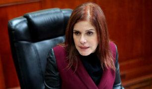Mercedes Aráoz criticó misiva de partido PpK tras hablar sobre Prialé