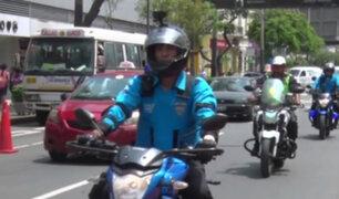 Labor de vigilancia en Miraflores será en motocicletas a fin de combatir la delincuencia