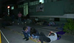 San Isidro: ciudadanos extranjeros hacen largas colas para obtener antecedentes penales