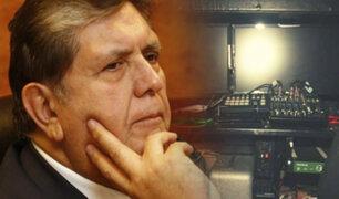 """Informe pericial concluyó que no existió """"chuponeo"""" a Alan García"""