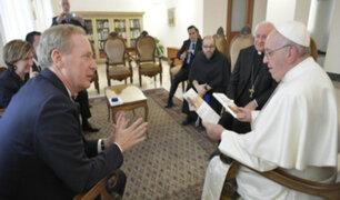 Inteligencia artificial: Sumo Pontífice se reunió con el presidente de Microsoft
