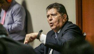 Alan García: detención de Kuczynski es 'abusiva y mediática'