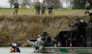 México: autoridades de Estados Unidos rescatan a familia de migrantes