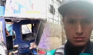 La Victoria: mototaxista es acuchillado por negarse al pago de cupos