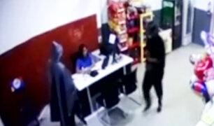 Tarapoto: asaltan agente bancario y se llevan 10 mil soles