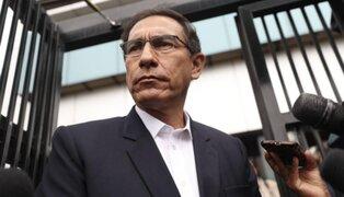 Martín Vizcarra: aprobación presidencial cayó de 61% a 56% respecto a enero, según IEP