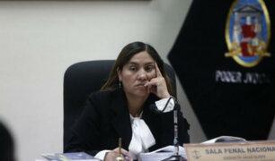 Jueza Elizabeth Arias acepta inhibición solicitada por Giuliana Loza