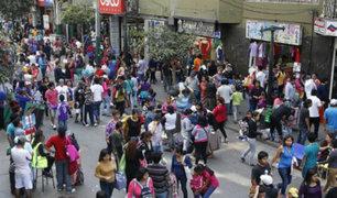 Municipio de La Victoria prohíbe comercio ambulatorio en Gamarra