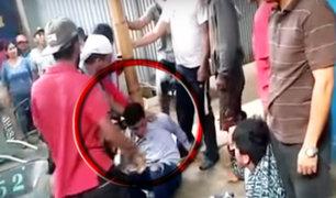 Trujillo: ciudadanos venezolanos capturan a ladrones de celulares y les dan paliza