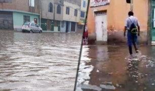 Chiclayo soportó intensa lluvia durante horas de la madrugada