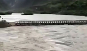 La Libertad: río Marañón amenaza con desbordarse en Pataz