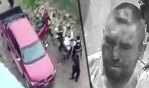 Puerto Maldonado: policía captura a dos delincuentes tras balacera