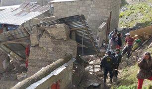 La Libertad: pared colapsa por intensas lluvias y mata a dos niños