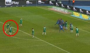 VIDEO: Pizarro marca gol de tiro libre y salva al Bremen de derrota