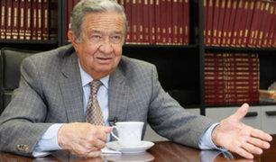Falleció Juan Incháustegui, exministro de Energía y Minas