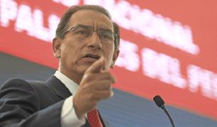 Ipsos: respaldo a gestión del presidente Vizcarra alcanza el 58%