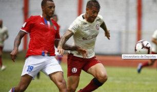 Universitario igualó 1-1 ante Unión Comercio en debut por la Liga 1