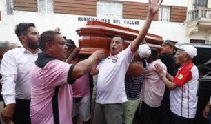 'Kukín' Flores: hinchas le dan el último adiós en local del Sport Boys