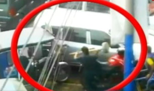 Gamarra: denuncian mafia de cobro de cupos por paraderos